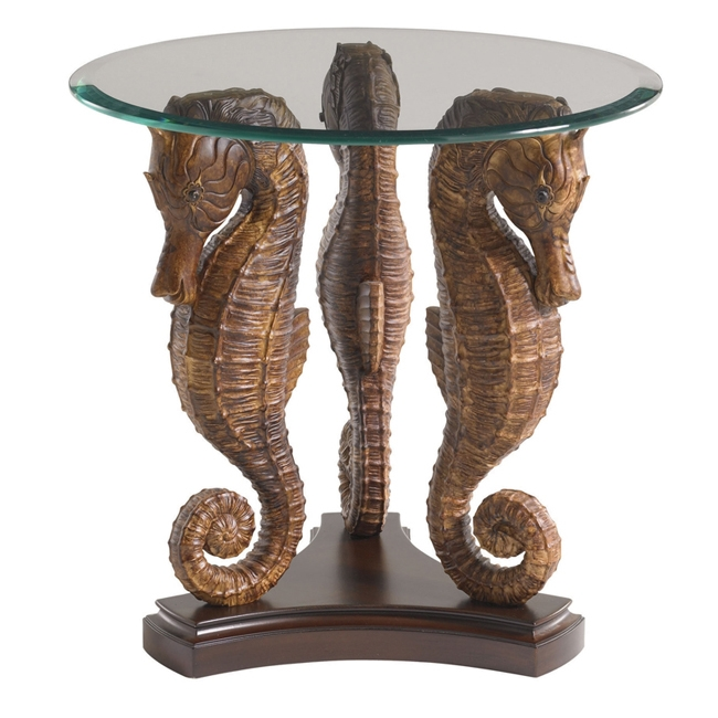 Seahorse Lamp Table